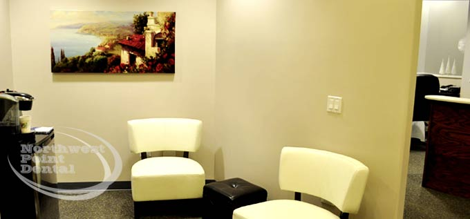 Northwest Point Dental Waiting Room